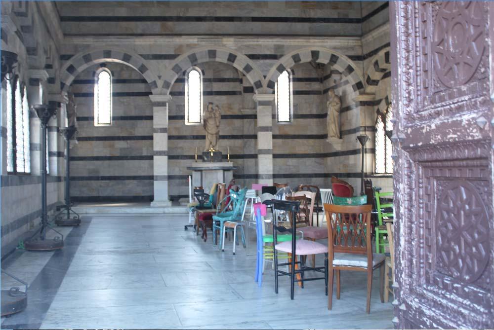 inside Church of Santa Maria della Spina in pis