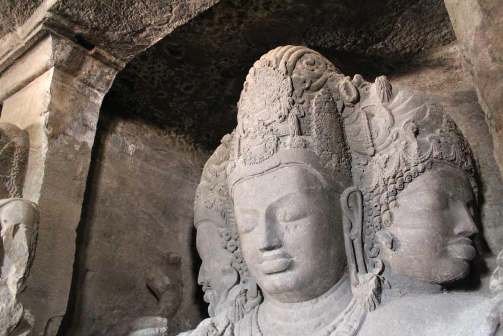 sculpture-elephanta-caves-mumbai-bombay-india
