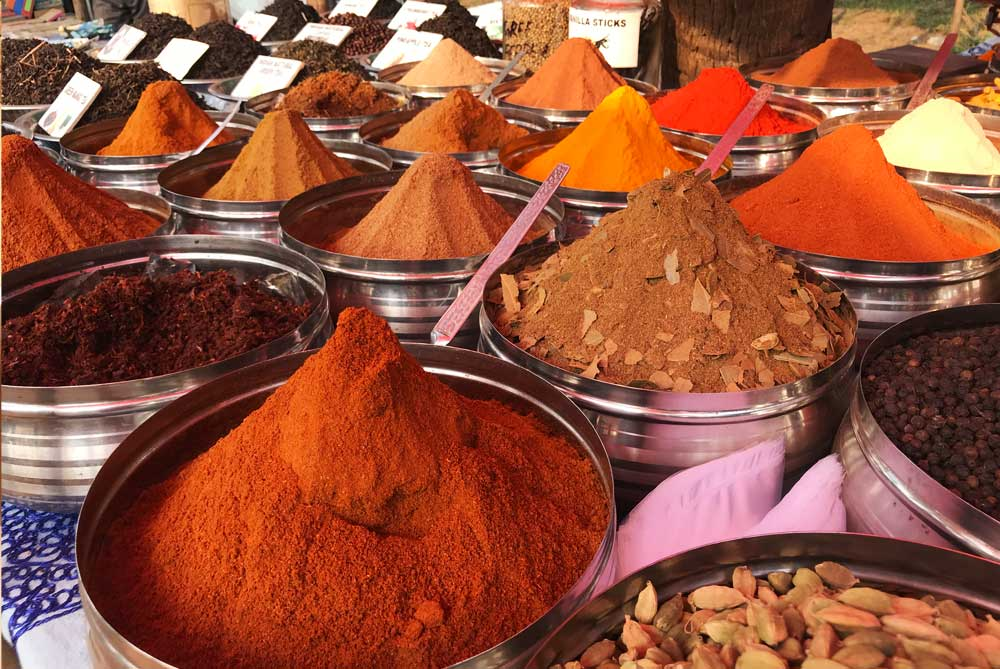 spices-at-anjuna-flea-market-goa-india