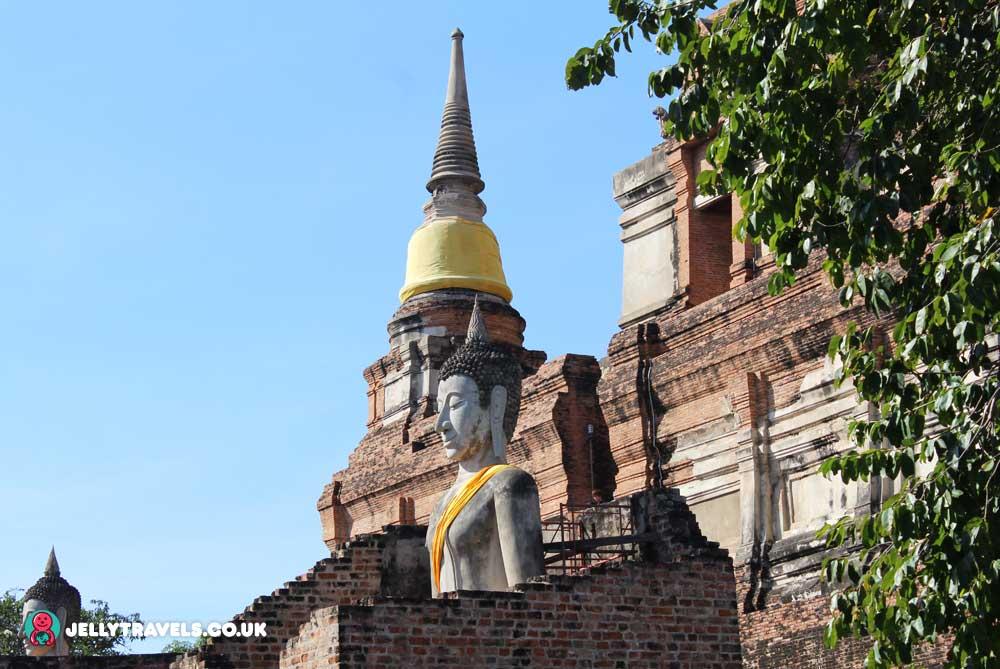 Wat-Yai-Chaimongkoi-Ayuthaya-thailand