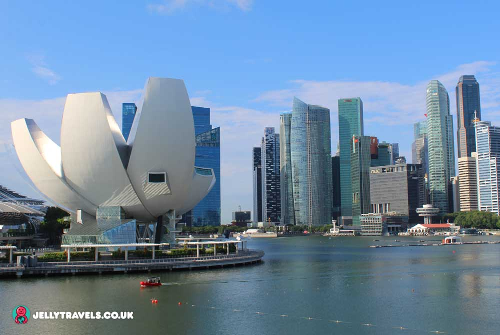 skyline-view-from-helix-bridge-Pump-House-singapore
