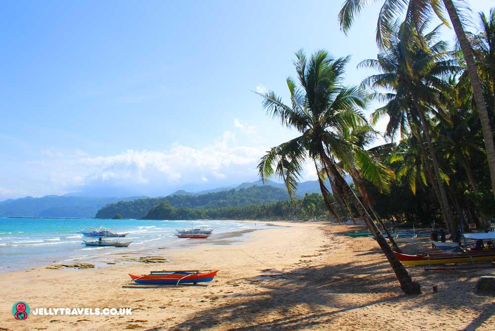 sabang-beach-palawan-philippines